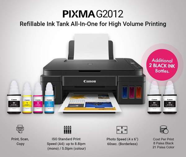 CANON PIXMA G2012