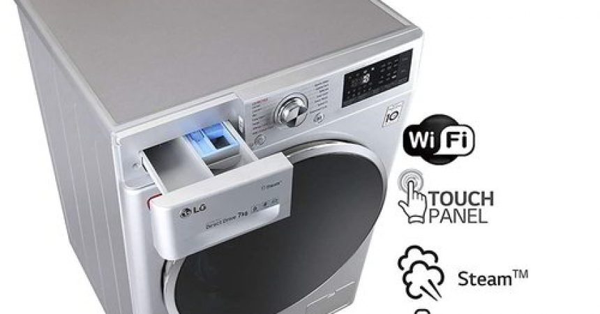 LG 7 kg Inverter Fully-Automatic Front Loading Washing Machine