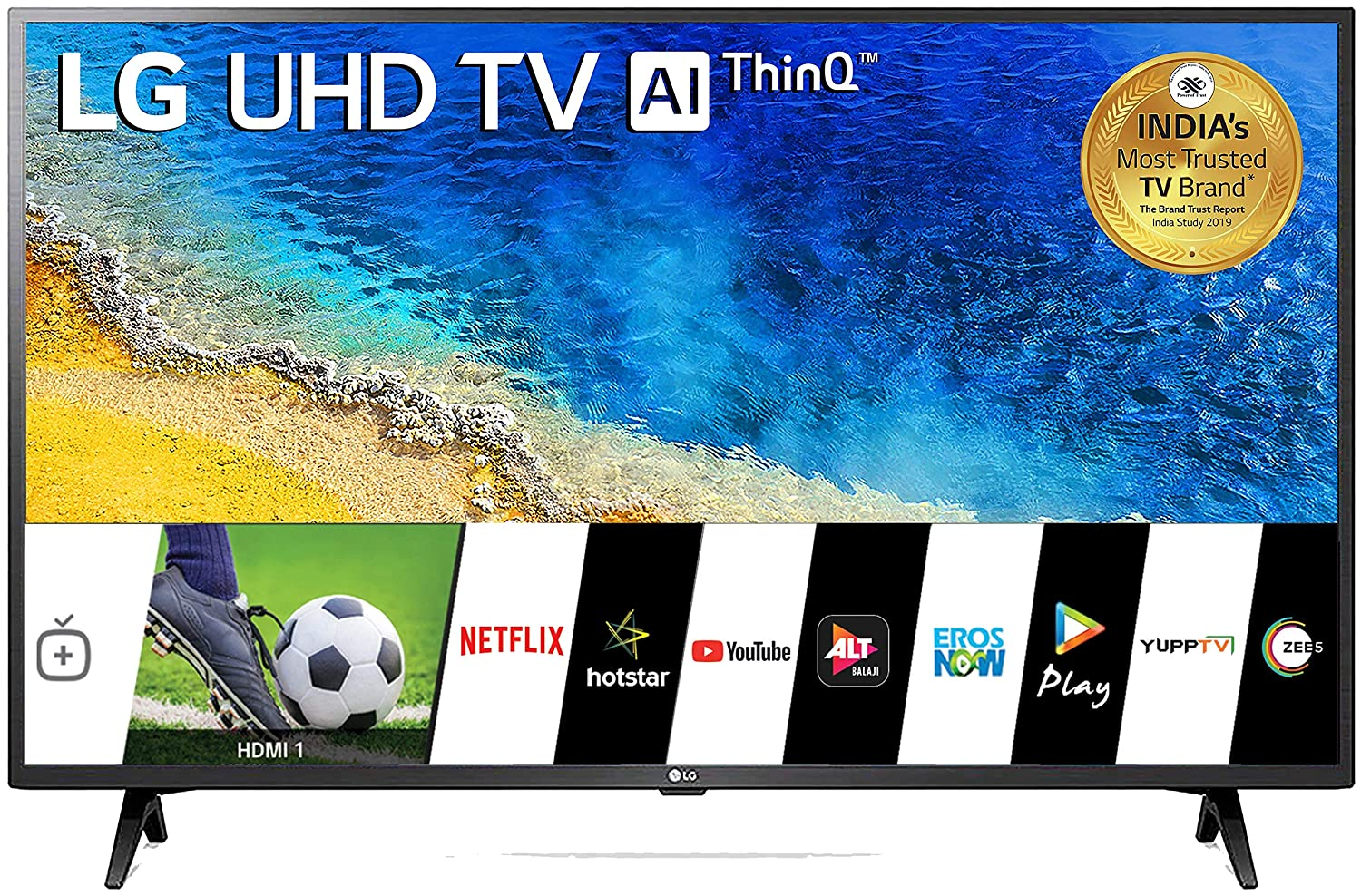 best 43 inch smart LED tv in India