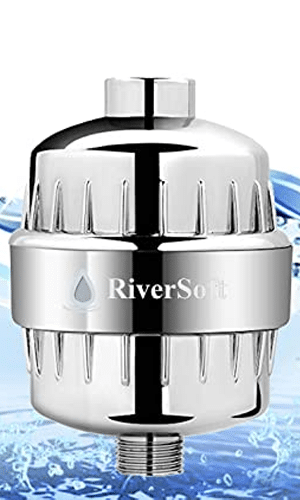 RIVERSOFT abs shower and tap filter for hard water