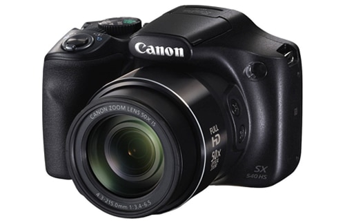 Canon Power Shot SX540HS 20.3MP Digital Camera with 50x Optical Zoom (Black), Memory Card and Camera Case