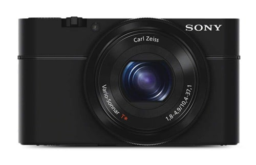 Sony DSC-RX100 Cybershot 20.2MP Point & Shoot Digital Camera with 3.6X Optical Zoom (Black)