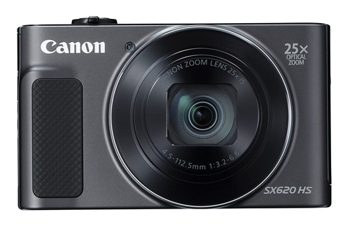 Canon Power Shot SX620HS 20.2MP Digital Camera with 25x Optical Zoom (Black), 16GB Memory Card and Camera Case