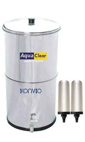 Konvio Neer Gravity Water Filter Purifier