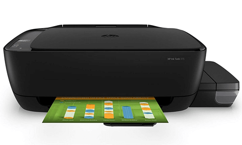 HP Ink Tank Colour Printer