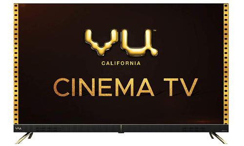 Vu 4K Ultra HD Cinema Android Smart LED TV