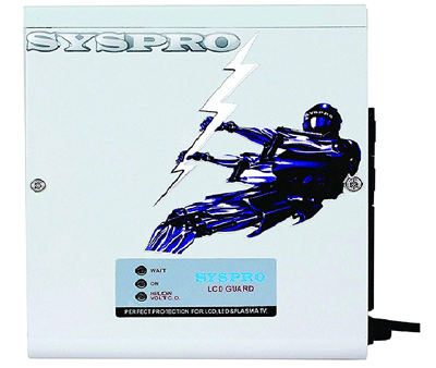 SYSPRO Turbo Plus Voltage Stabilizer for LED TV