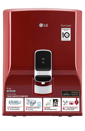 LG Water Purifier Filtration & Dual Protection