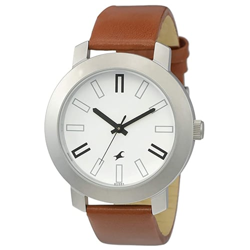 Fastrack Casual Analog White Dial Watch