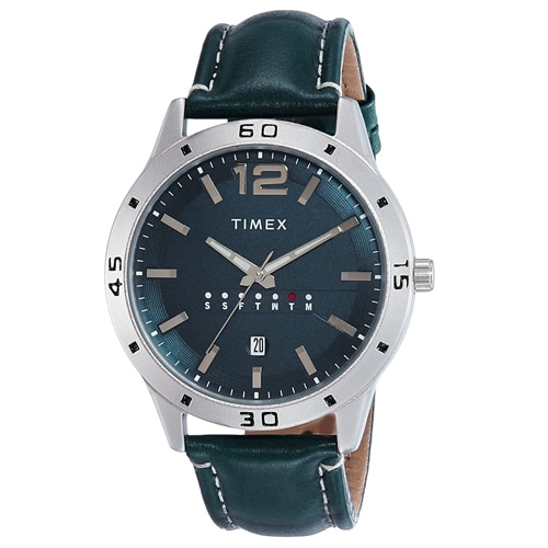 Timex Analog Blue Dial Men's Watch, Trustedreview