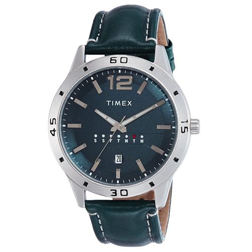Analog Blue Dial Men's Watch