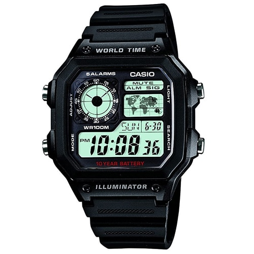 Casio Youth Grey Dial Men's Watch, Trustedreview
