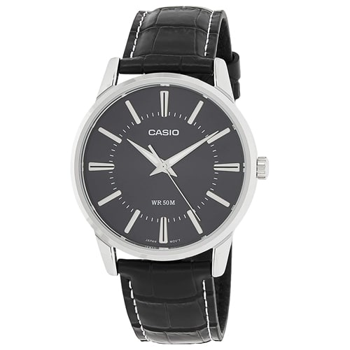 Casio Enticer Analog Black Dial Men's Watch, Trustedreview