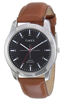 Timex Analog Black Dial Men's Watch