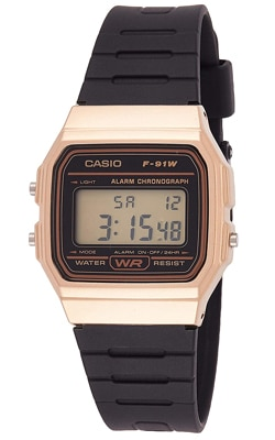 Casio Golden Small Dial Digital Watch