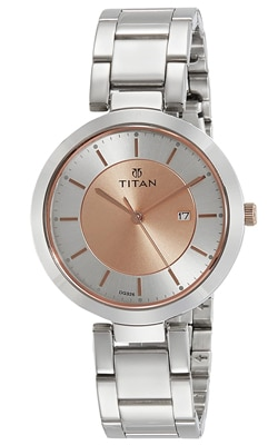 Titan Analog Black Dial Women's Watch, Trustedreview