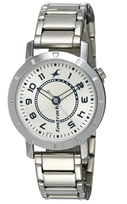 Fastrack Analog Silver Dial Women's Watch, Trustedreview