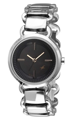 Fastrack Analog Black Dial Women's Watch, Trustedreview