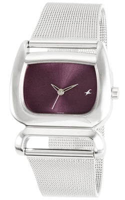 Analog Purple Dial Women's Watch