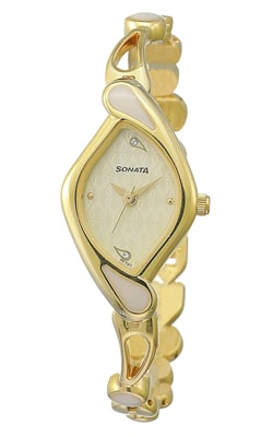 Sonata Sona Sitara Analog White Dial Women's Watch, Trustedreview