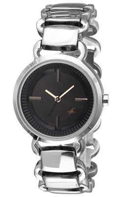Fastrack Black Dial Women's Watch
