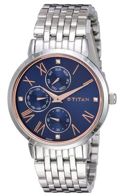 Titan Blue Dial Ladies Watch, Trustedreview