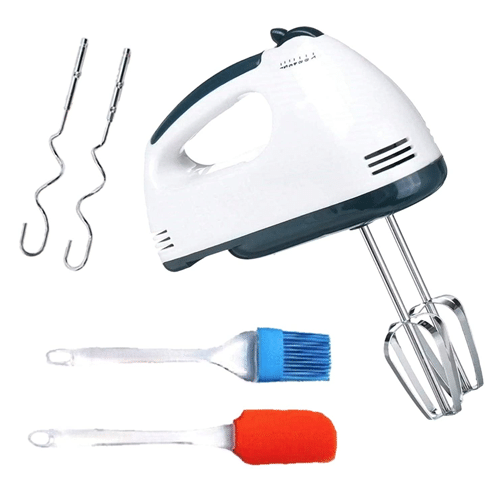 Electric Hand Mixer High Speeds Roasting