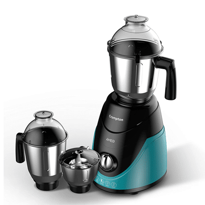 Mixer Grinder with 3 Stainless Steel Jars