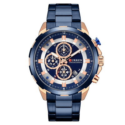 Analog Calendar Wrist Watch