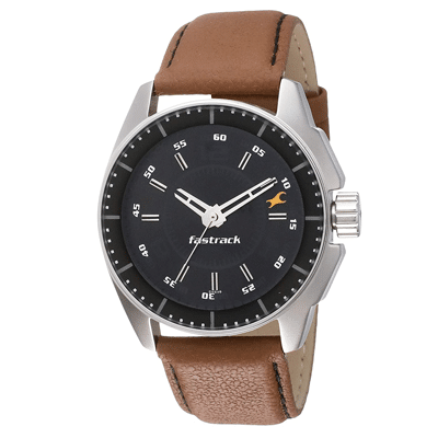 fastrack analog white dial men's watch, Trustedreview