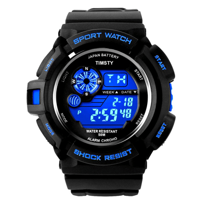 Timsty Electronic Sports Watch, Trustedreview