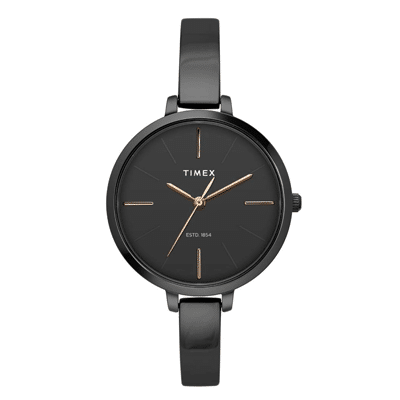 Timex Analog Black Dial Women's Watch, Trustedreview