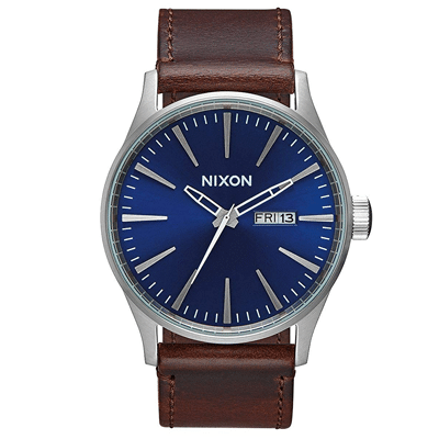 Nixon Men's Leather Watch, Trustedreview