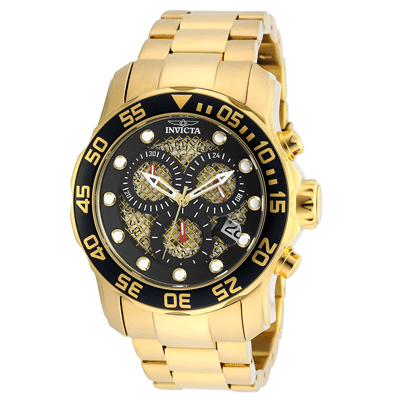 Invicta Men's Gold Ion-Plated Watch, Trustedreview