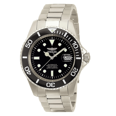 Invicta Analog Black Dial Men's Watch, Trustedreview