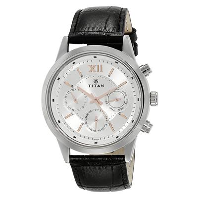 Titan Silver Dial Men's Watch, Trustedreview