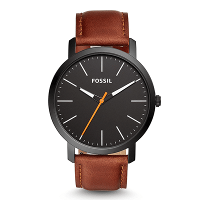 Fossil Analog Black Dial Men's Watch, Trustedreview