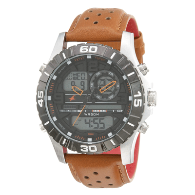 Fastrack Black Dial Men's Watch, Trustedreview