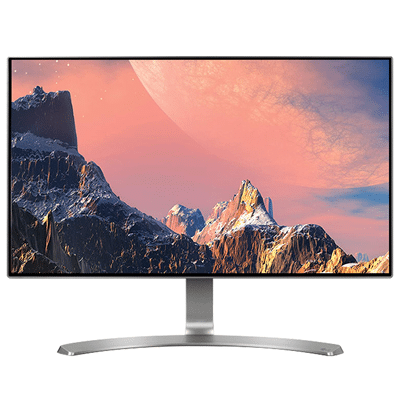 Borderless LED Monitor