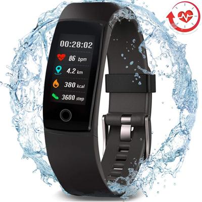 Waterproof Health Tracker Sport Smart Watch