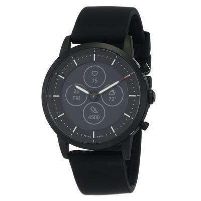 Fossil Collider Hybrid Hr Smartwatch Black Dial Men's Watch