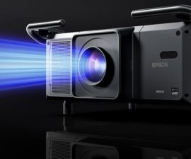 Laser projection launch